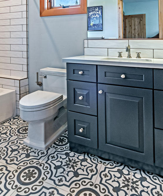 Ornate Tile for Bathroom CTC Tile