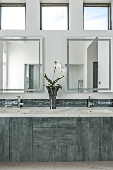 beautiful bathroom countertops