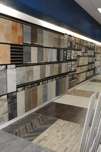 ctc showroom close up of tile options