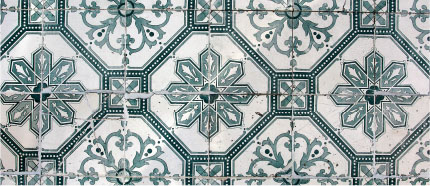 ornate sample tiles